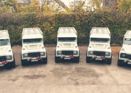 Land Rover Defender mit Superwinch HUSKY
