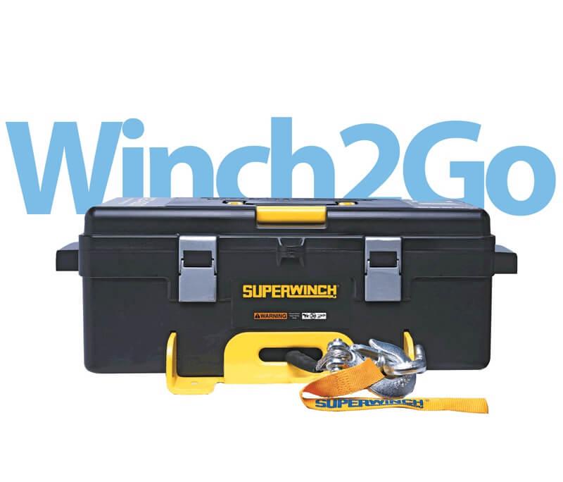 Winch2go Seilwinde im Koffer